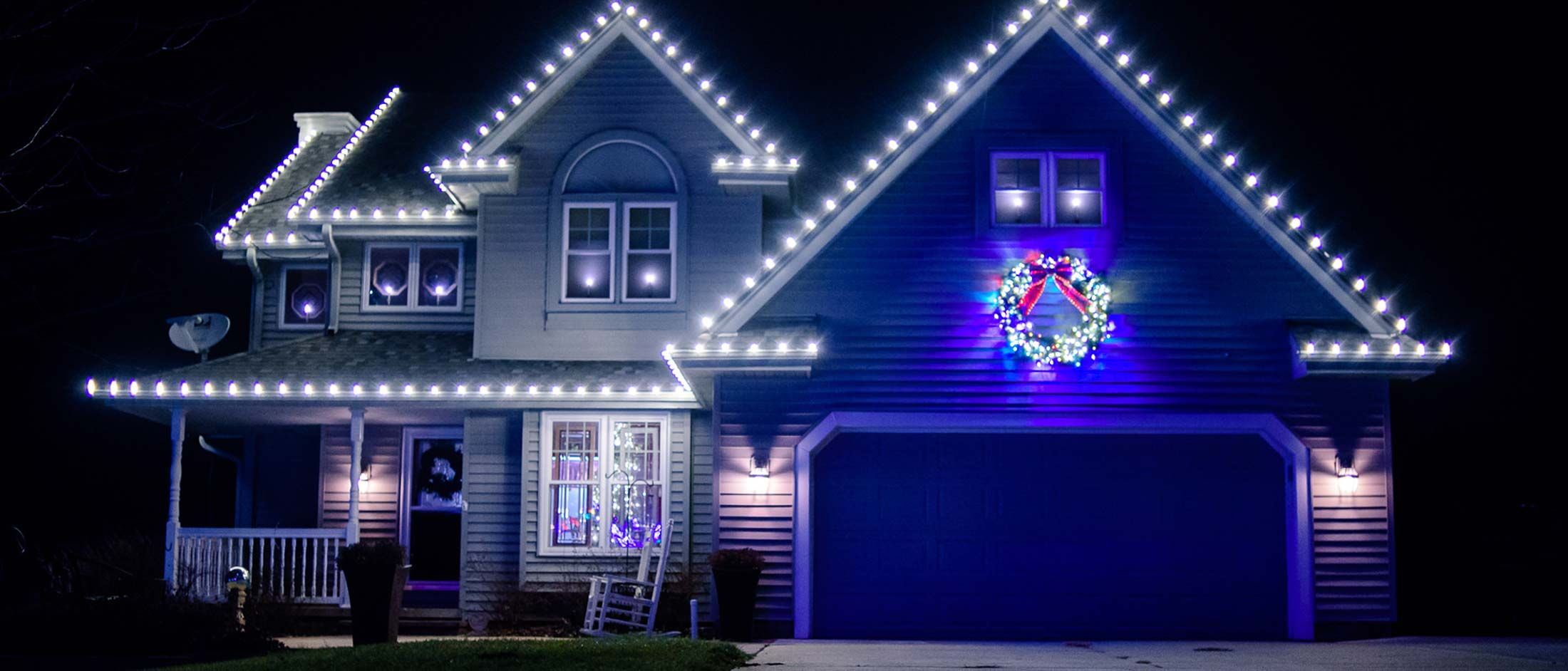 Christmas Holiday Lighting Decorations Wahle Landscaping