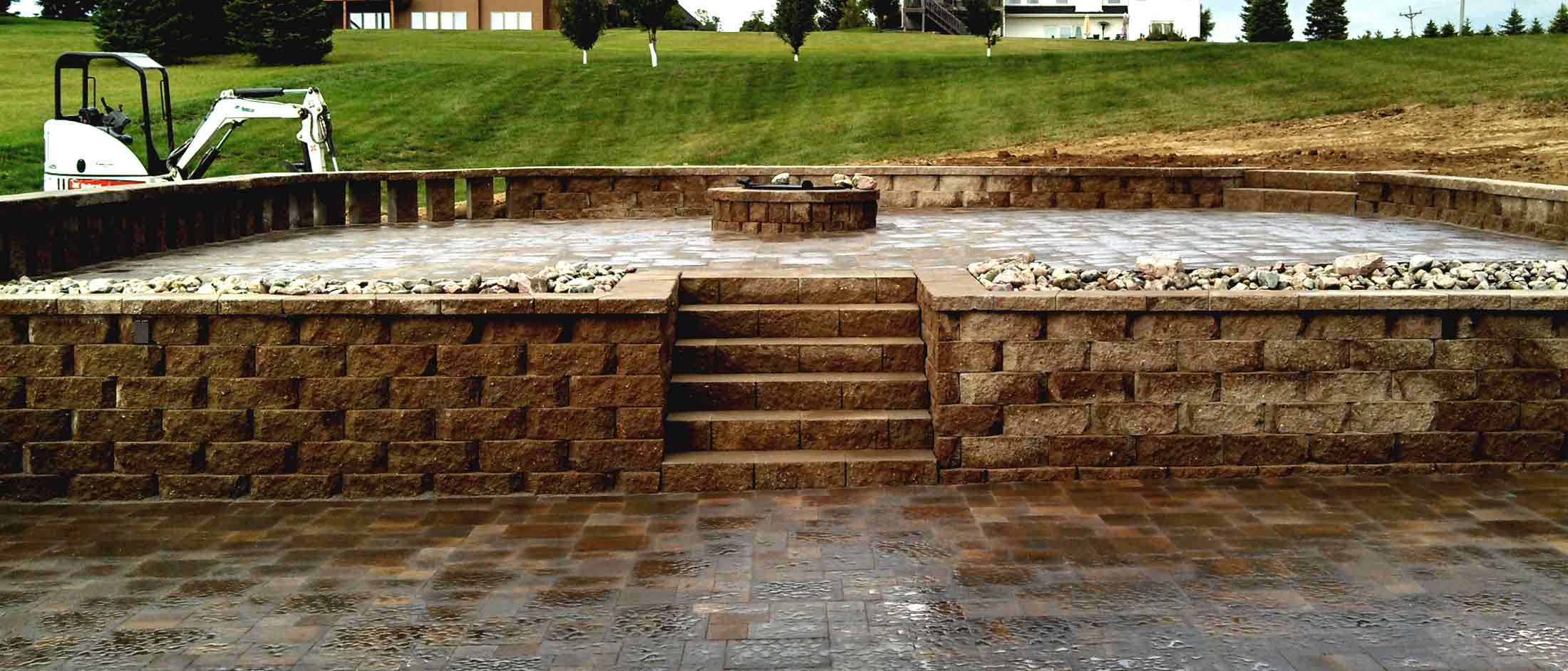Retaining Walls Wahle Landscaping